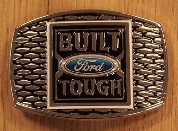 "Buckle  "" Built Ford Tough """