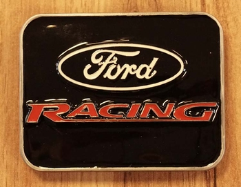 """Buckle """" Ford racing """""""