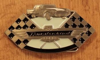 """Buckle """" Thunderbird Ford """""""