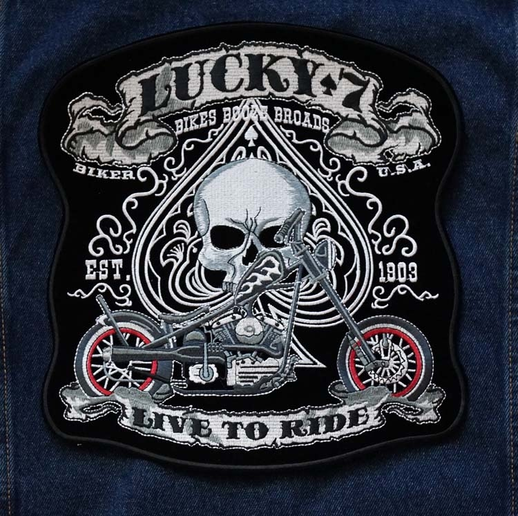 """Applicaties  """" Lucky 7, live to ride """""""