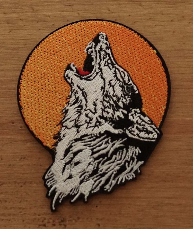 """Applicaties  """" Wolf bij volle maan """""""