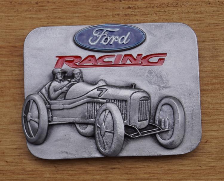 "Automerk buckle  ""  Ford racing """