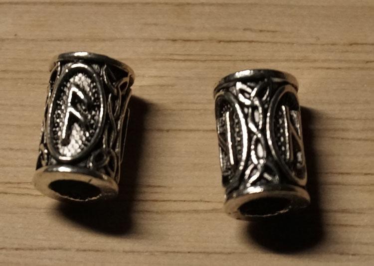 """Baardkraal  """" Viking - tekens """""""