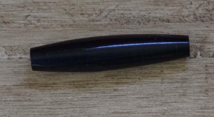 """Beentje  """" 2,5 cm """"  Zwart"""