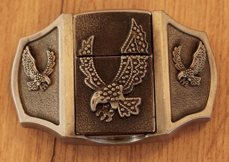 """Belt buckel with lighter """"  Adelaars  """""""