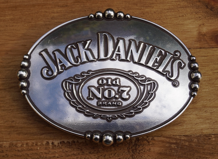 "Belt buckle   "" Jack Daniel's  old no 7 brands  """