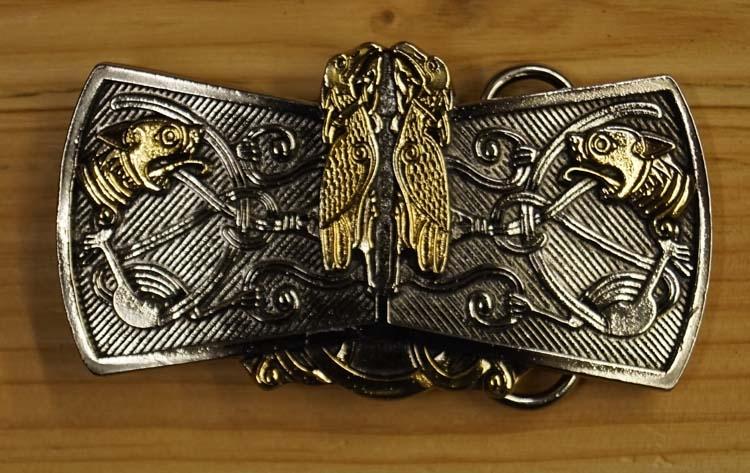 """Belt buckle  """" Birds & Beasts """""""