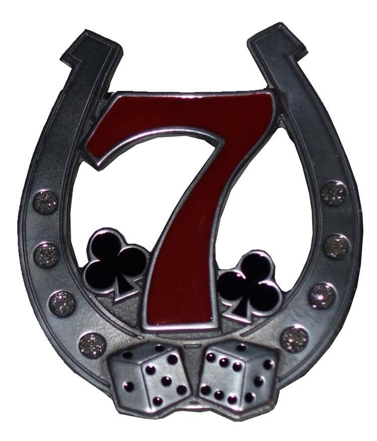 "Belt buckle  "" Hoefijzer 7 ""  Geluksbrenger"