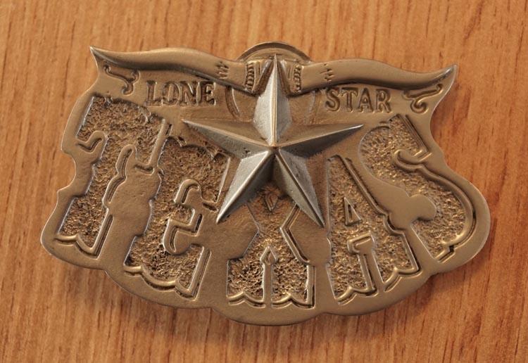 "Belt buckle  "" Texas """