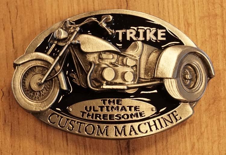 "Buckle   "" Trike custom machine """