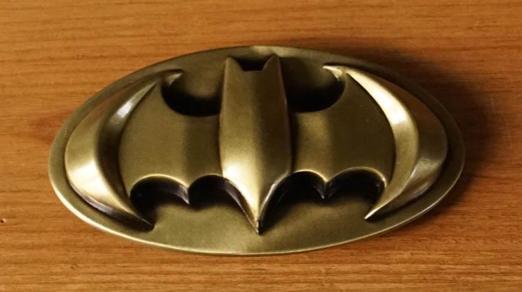 """Buckle  """" Batman """"   Goud kleurig"""