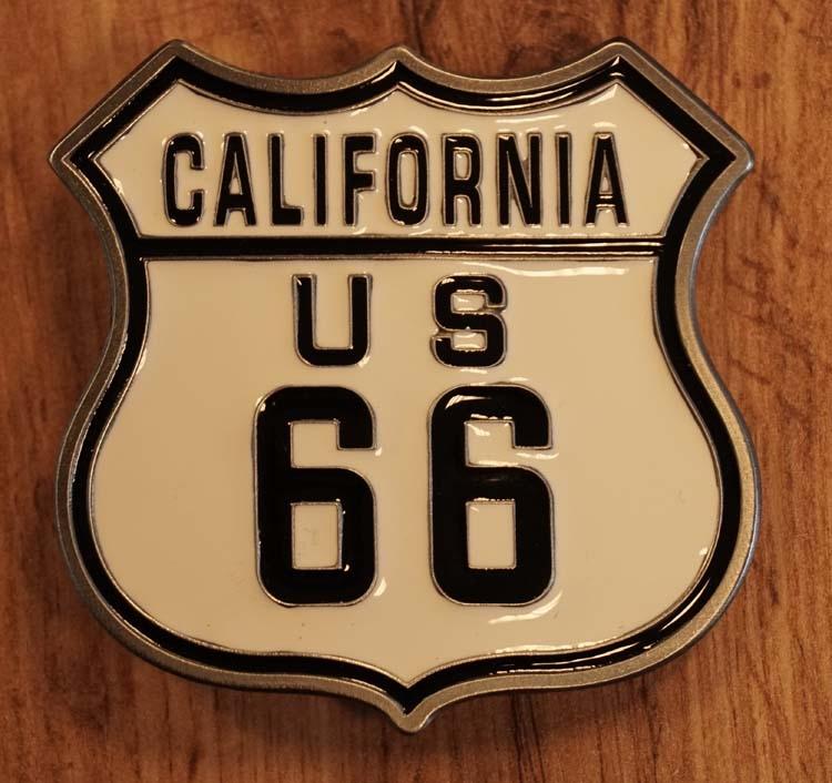 """Buckle  """" California us 66 """"    UITVERKOCHT"""