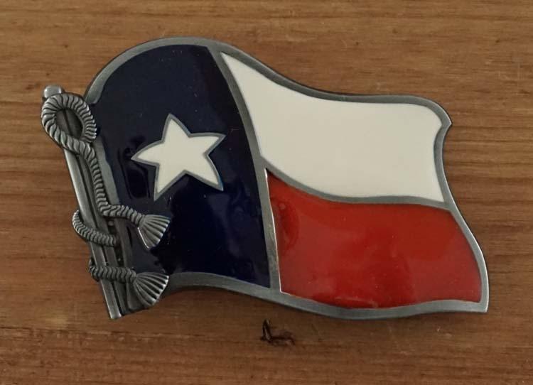 """Buckle  """" Texas vlag """""""