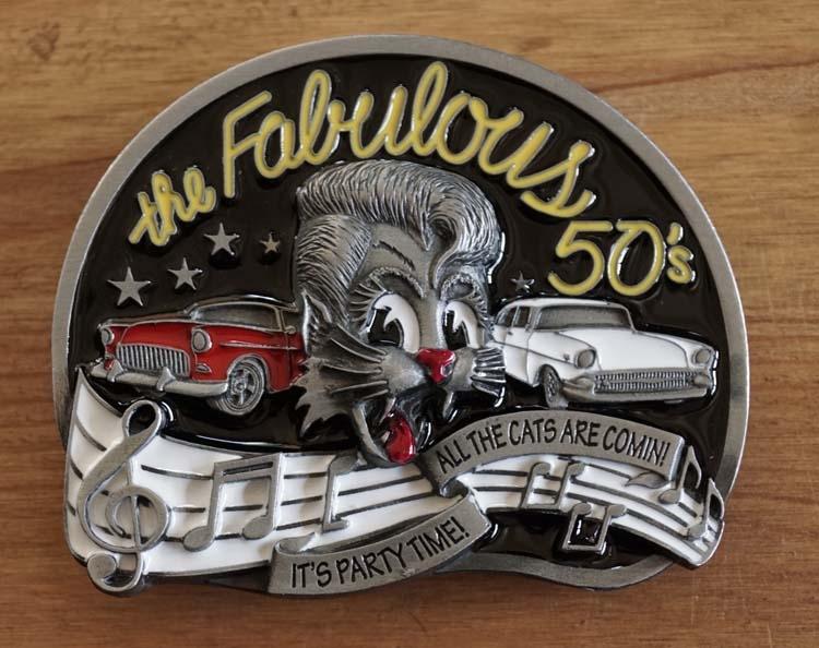 """Buckle  """" The fabulous 50s """"  UITVERKOCHT"""