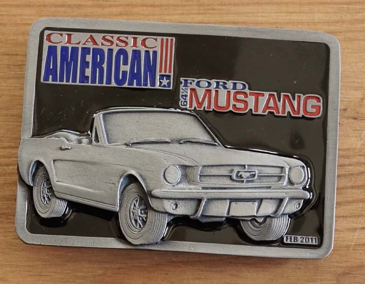 "Buckle "" Classic American  Ford Mustang '64 """