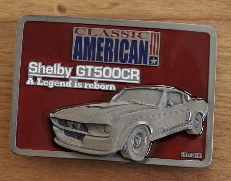 """Buckle """" Classic American  Shelby GT 500 """""""