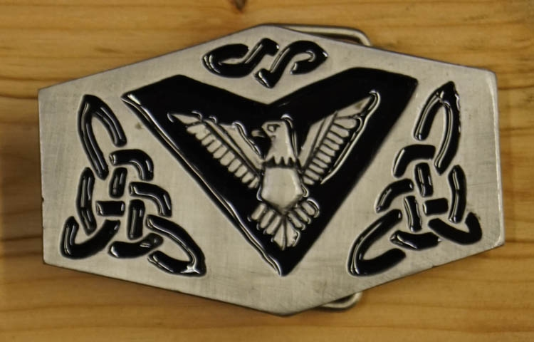 "Buckle / gesp  "" Celtic adelaar """