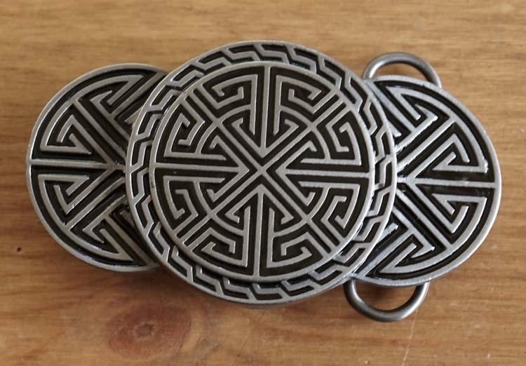 """Buckle / gesp  """" Celtic design """""""