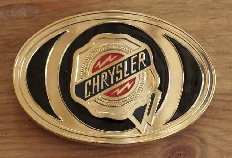 "Buckle / gesp  "" Chryster """