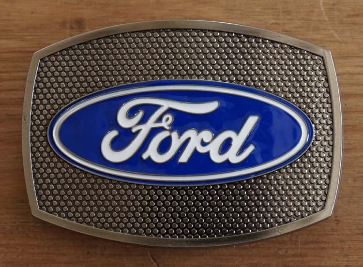 """Buckle / gesp  """" Ford """""""