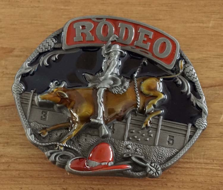 """Buckle / gesp  """" Rodeo rider """"   UITVERKOCHT"""