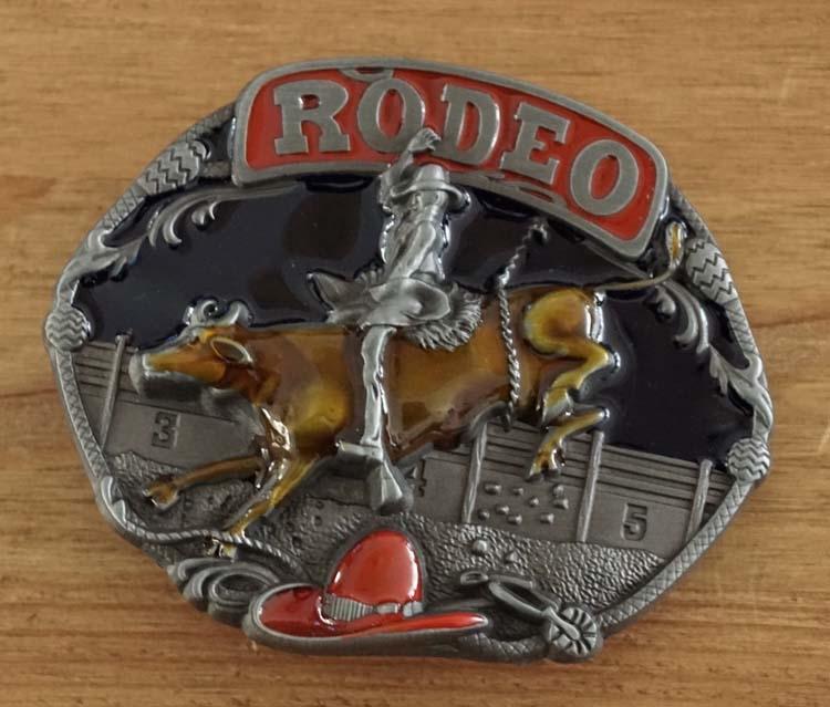 "Buckle / gesp  "" Rodeo rider """