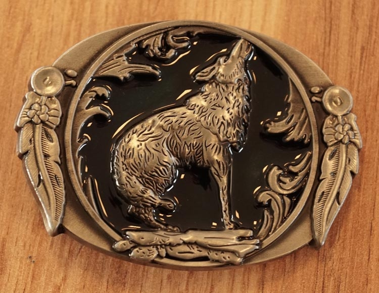 "Buckle "" Huilende wolf """