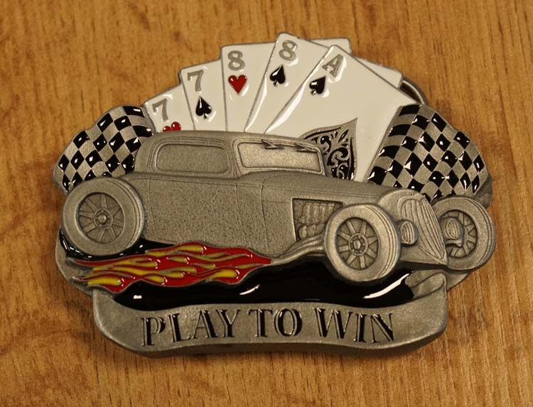 """Buckle """" Play to win """""""
