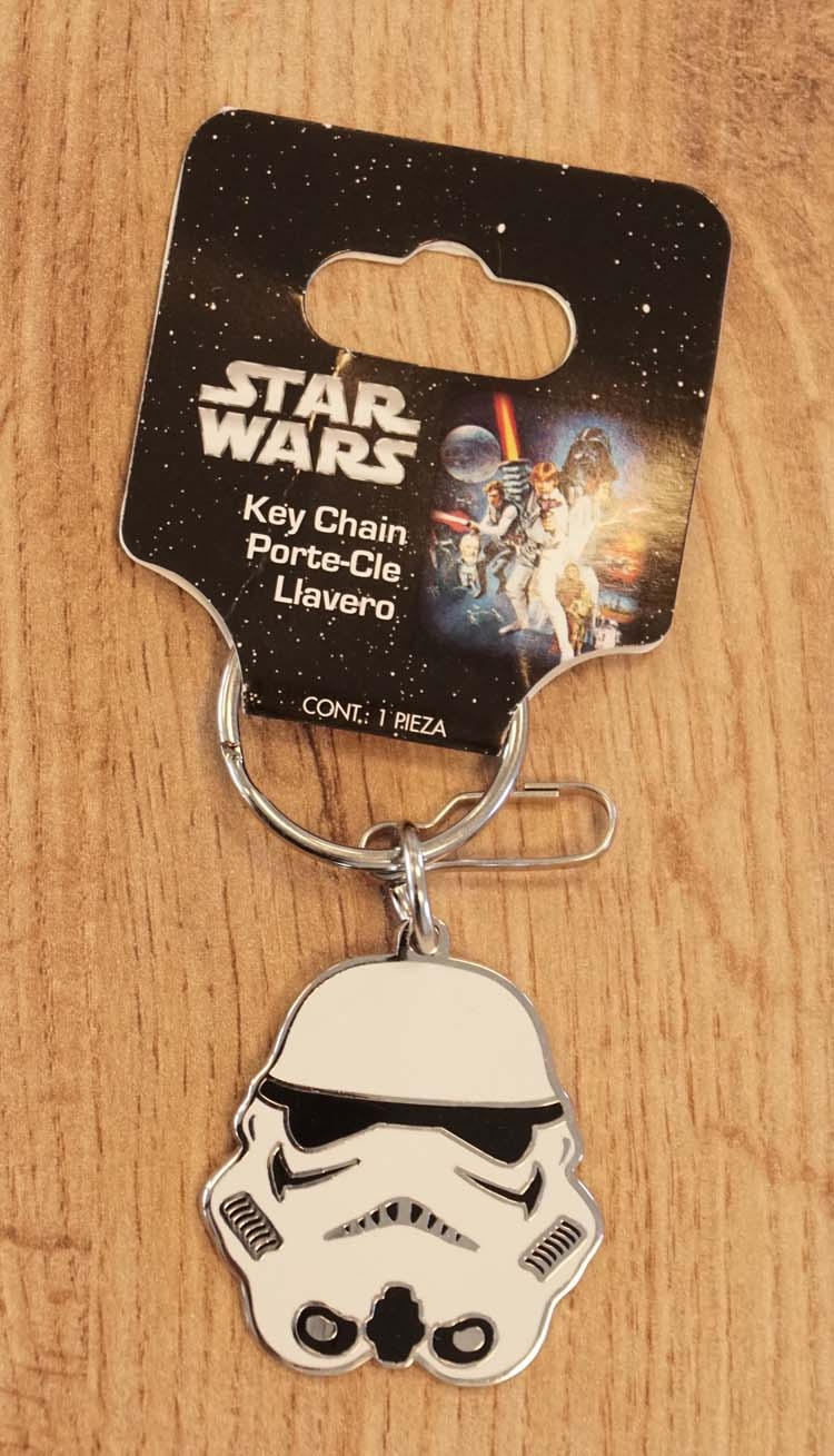 "Sleutelhanger  "" Star Wars ""   Storm Trooper"