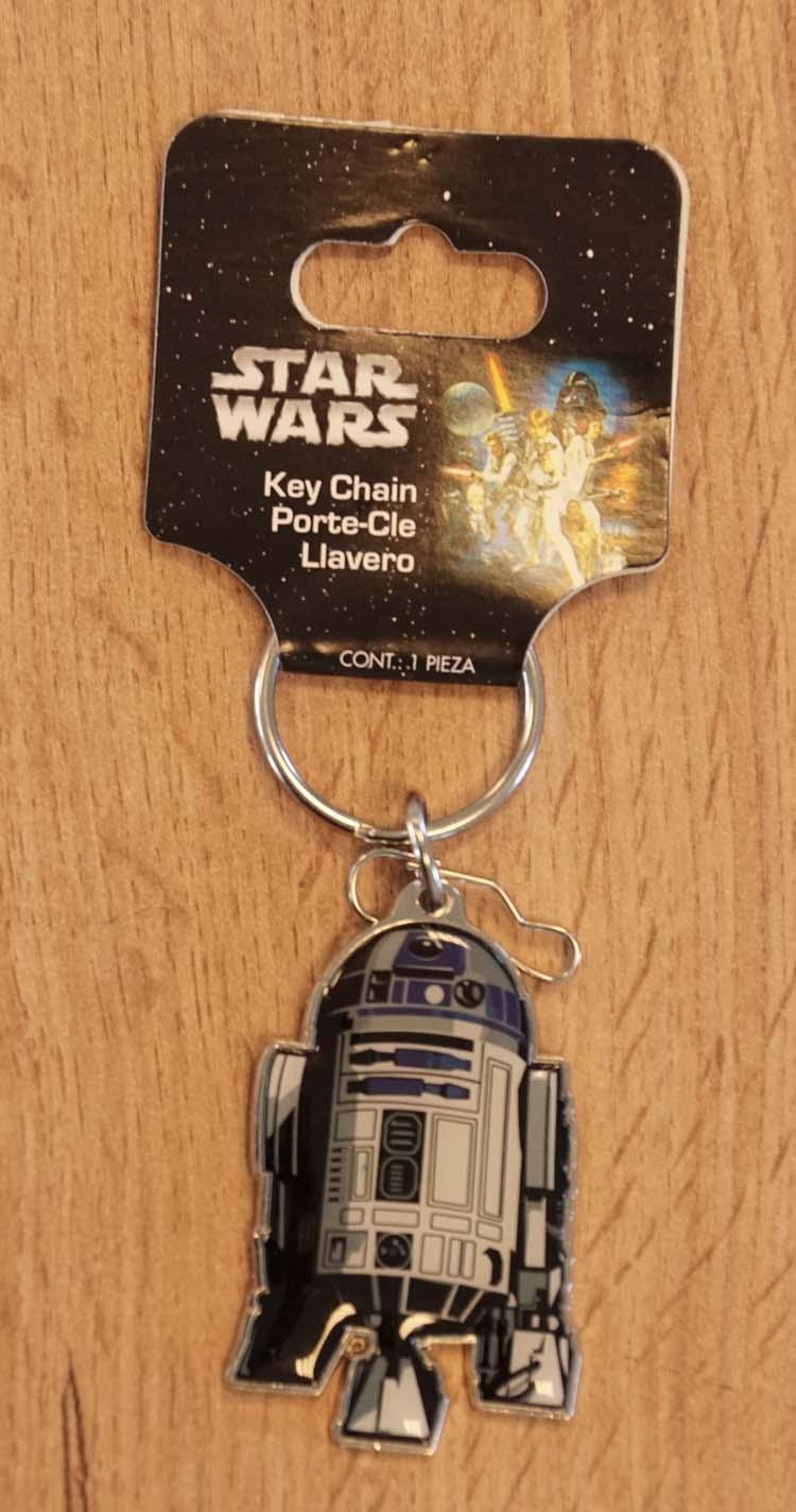 """Sleutelhanger  """" Star Wars """"  R2 - D2"""