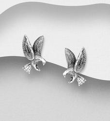 Zilveren oorknopjes