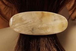 Hoorn haarclip