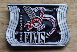 """Elvis buckle  """" Still Rockini Elvis """""""