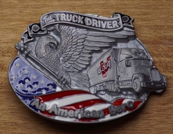 "Truck buckle   "" The trucker driver """