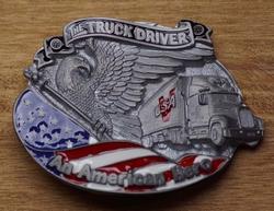 "Truck buckle   "" The trucker driver """