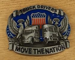 """Riem gesp  """" Truck driver move the nation """"  UITVERKOCHT"""
