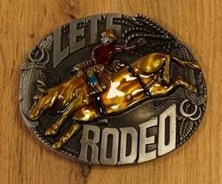 "Western buckle  "" Bull riding """