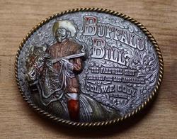 """Western buckle  """" Buffalo bill """"  UITVERKOCHT"""