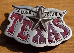 """Western buckle  """"  Lone star Texas """""""