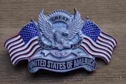 "Gesp buckle  "" United state of America """