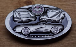 "Verzamel buckle  "" Chevrolet corvette """