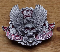 "Belt buckle   "" Rebel rider """