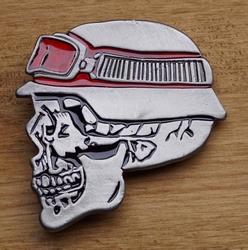 """Buckle / gesp  """" Motorrijder skelet """""""