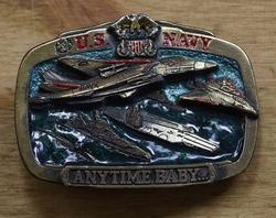 "Koppel gesp "" US Navy anytime baby ""  ( Vliegenier marine )"