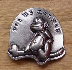 """Humor gesp  """" Pet my monkey """""""