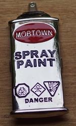 "Humor gesp  "" Spray paint """