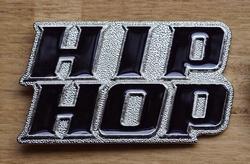 """Muziek gesp  """" Hip hop """""""