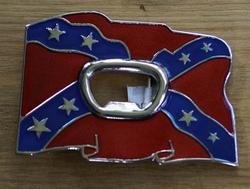 "Opener buckle  "" Rebel vlag """