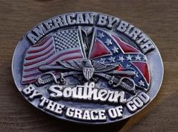 """Buckle """" Als Amerikaan geboren, Zuiderling"""