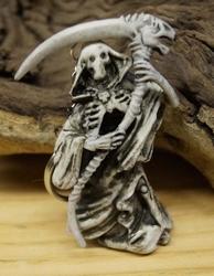 """Sleutelhanger  """" Skelet met zeis  """""""